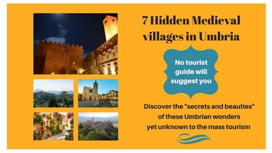 E-book 7 hidden medieval villages in umbria
